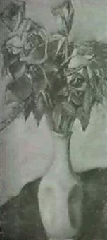 rosenstilleben by louise jeanne cottard-fossey