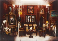 grand salon (1976) by rosson crow