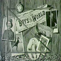 boys world (still life with cards and watch) by donald mcdorman