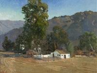 the dairy - nye property, santa ana road, ojai by meredith brooks abbott