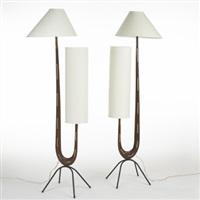 floor lamps (pair) by rispal