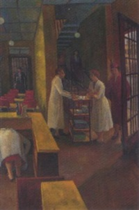 bustling cafe scene by g. p. eagleton