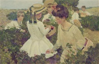 berry picking by harry mills walcott