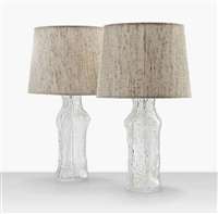 table lamps (pair) by timo sarpaneva