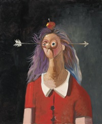 the secretary by george condo