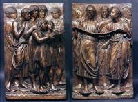 pueri cantores (cantoria del duomo di firenze) by luca della robbia