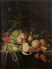 nature morte de fruits by cornelisz mahu