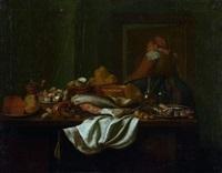 intérieur de cuisine by pieter jacob horemans