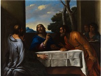 das abendmahl in emmaus by andrea di leone