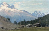 col des montets by charles henry contencin