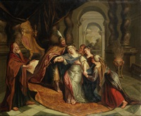esther before ahasuerus by antoine coypel