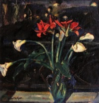 bouquet d'arums by honor mary ryland david-gell
