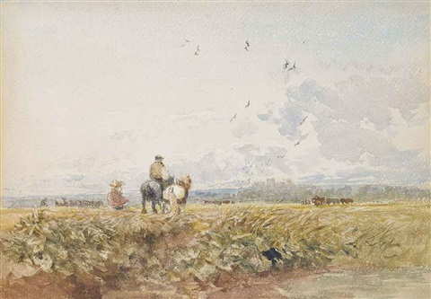 homewards by david cox the elder