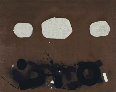 above below n2 by adolph gottlieb
