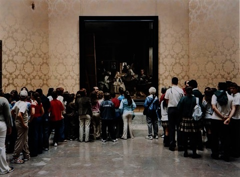 museo del prado room 12 madrid by thomas struth