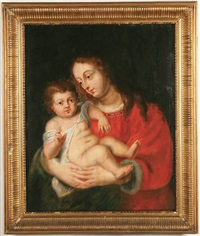 the virgin and child by jan erasmus quellinus