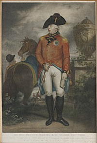 his most gracious majesty king george the third (after william beechey) by benjamin smith