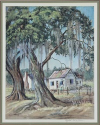 lowcountry scenes (13 works) by elizabeth o'neill verner