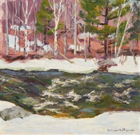 winter stream by william f. heffernan