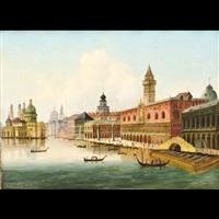 veduta del bacino di san marco by italian school-venetian (19)