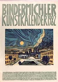 ohne titel (set of 55) by josef fischnaller