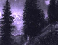 in den bayerischen alpen by ludwig bartning