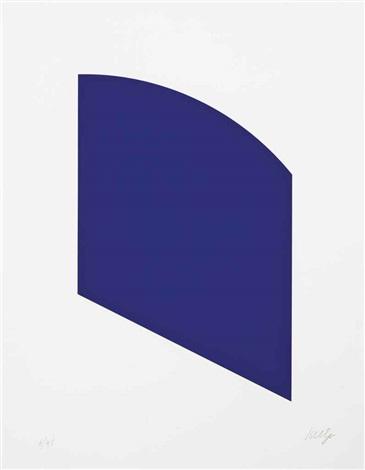 purple black 2 works by ellsworth kelly