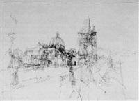 prag st. veits-dom by peter kubovsky
