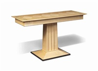 console table by david linley