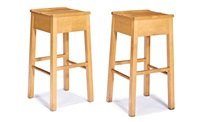 barstools (2) by roy mcmakin