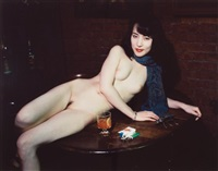 sans titre, nu aux lucky strike by nobuyoshi araki