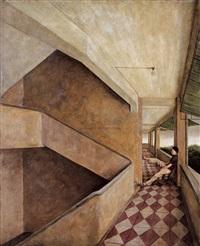afternoon hallway by xue jiye