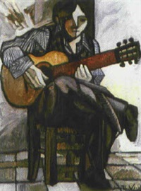 jove i guitarra ii by aleix llull
