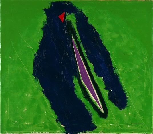 triangoli rosso e viola by nino aimone