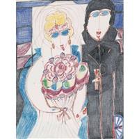 mariage des lilas goergens à noël by aloise