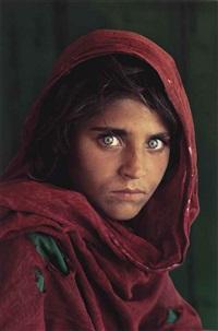 afghan girl, sharbat gula, peshawar, pakistan by steve mccurry