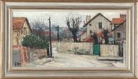 landscape at champigny sur marine by jennette rapp