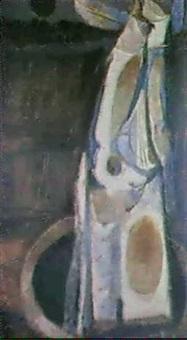 figura, luna, pozo y noche by jorge mantilla caballero