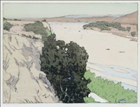 california, salinas river by frank morley fletcher