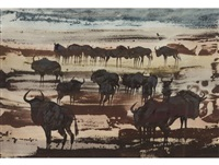 wildebeest migration by gordon vorster
