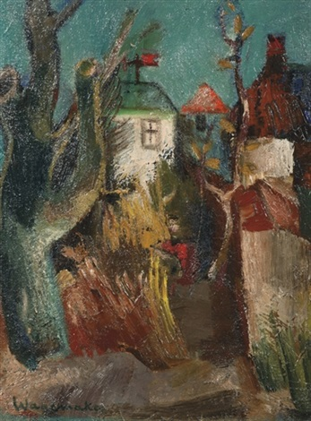 a view of a village by jaap wagemaker