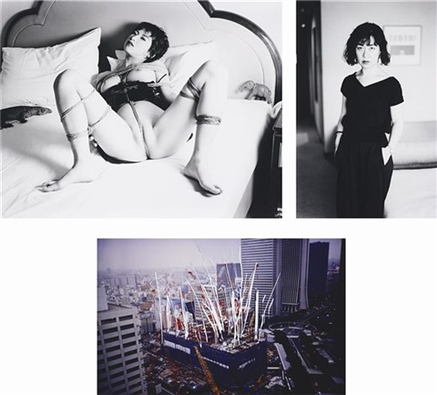 untitled from taschen sumo book (3 works) by nobuyoshi araki