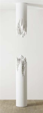 building cut column 1 in 2 parts by daniel arsham