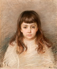 a young girl by maria wiik