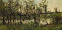 pareja de paisajes by manuel ramos artal