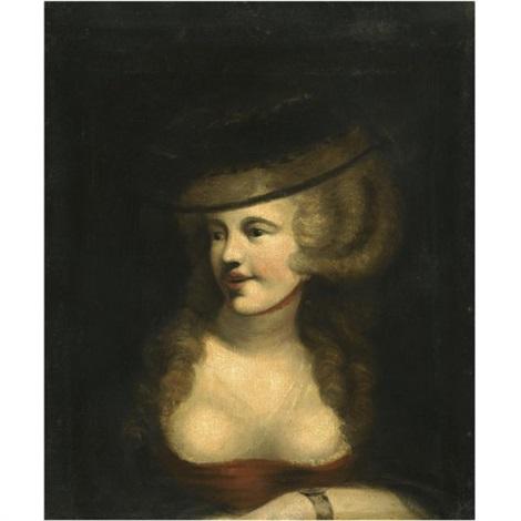 portrait of sophia rawlins the artists wife by henry fuseli