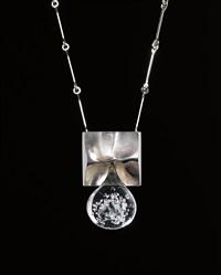 pisaranmuoto (big drop) necklace by björn weckström