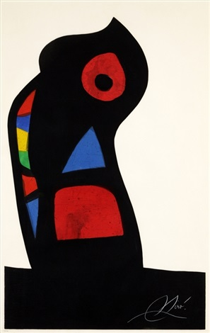 loustachi by joan miró