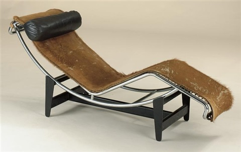 Chaise Longue Model No B306 By Le Corbusier Charlotte Perriand And Pierre Jeanneret