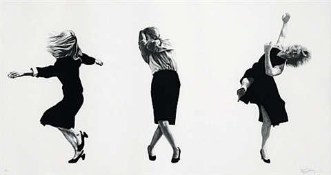 men in the cities by robert longo